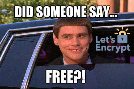 """Let's Encrypt"" 🔐 your website"